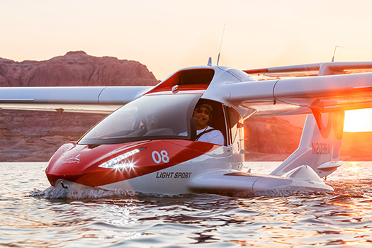 ICON A5 on Lake Powell